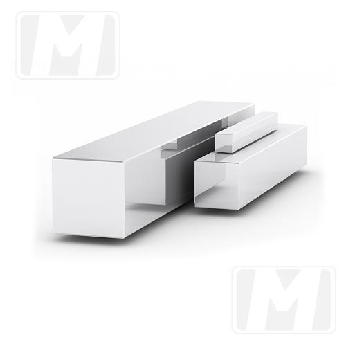 Квадрат металлический 15×15 мм